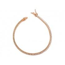 18K Rose Gold Diamond Bracelet